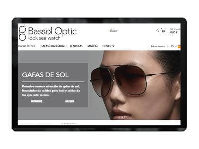 Optica Bassol ecommerce